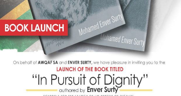 Enver Surty Book launch