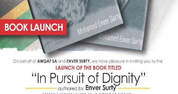 Enver Surty Book launch