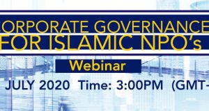Corporate Governance for Islamic NPO's Webinar