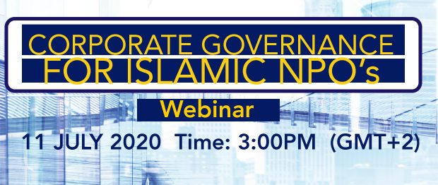 Corporate Governance for Islamic NPO's Webinar