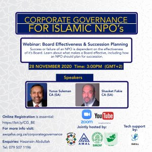 Corporate Governance Webinar